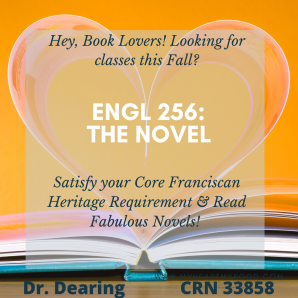 The Novel Ad Dr. Dearing Fall 2020